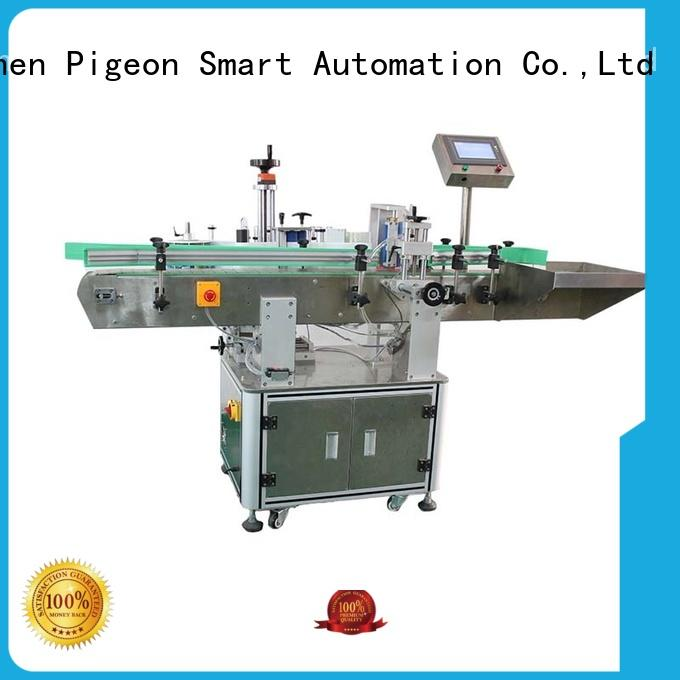 PST automatic bottle label applicator with custom service for wine bottle