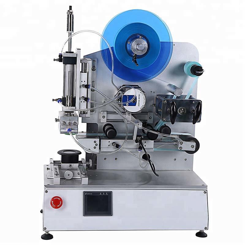 Semi-Automatic High Precision Flat Bottle Labeling Machine PST618