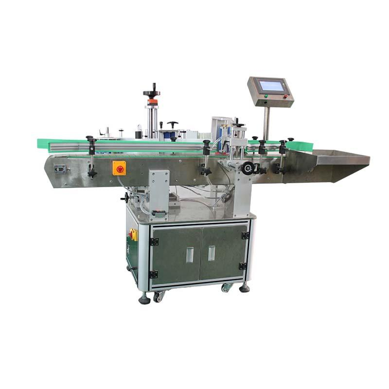 Automatic Round Bottle Labeling Machine for wine bottles Speed 25-60pcs per min PST805