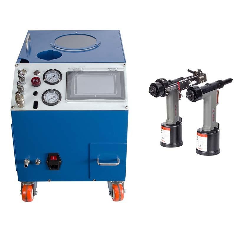 Automatic  Riveting Machine/pneumatic/ for Blind Rivets 2.1mm-6.4mm/Error Prevention/High Speed/RM131