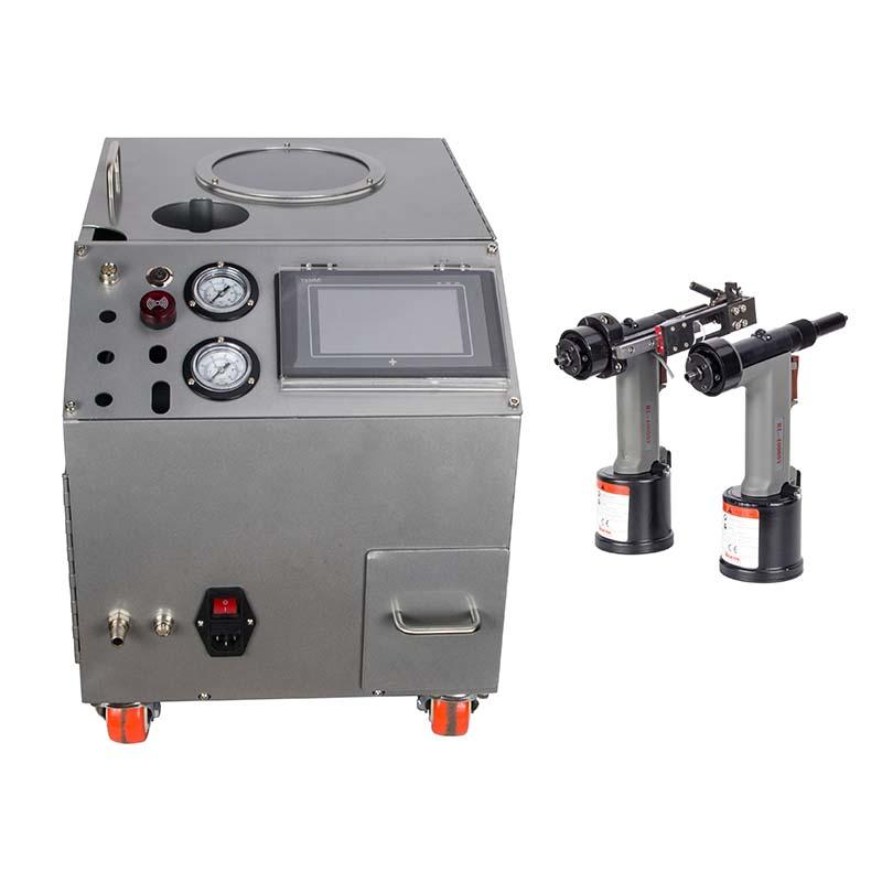 Riveting Machine Automatic/for Blind Rivets(2.1mm To 6.4mm)/Silver Color/Error Prevention/High Speed/RM132