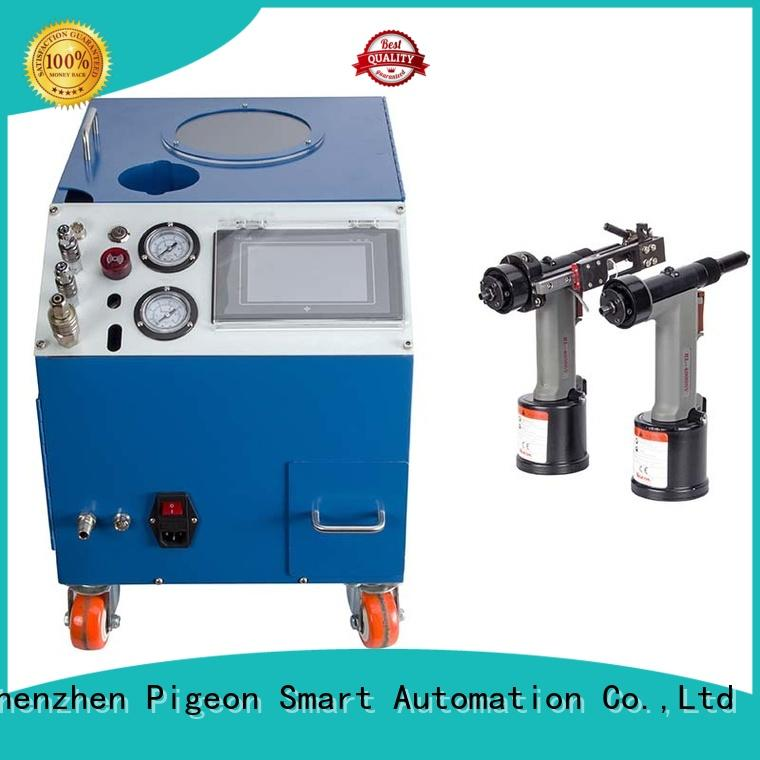 PST automatic pop rivet machine supplier for server case