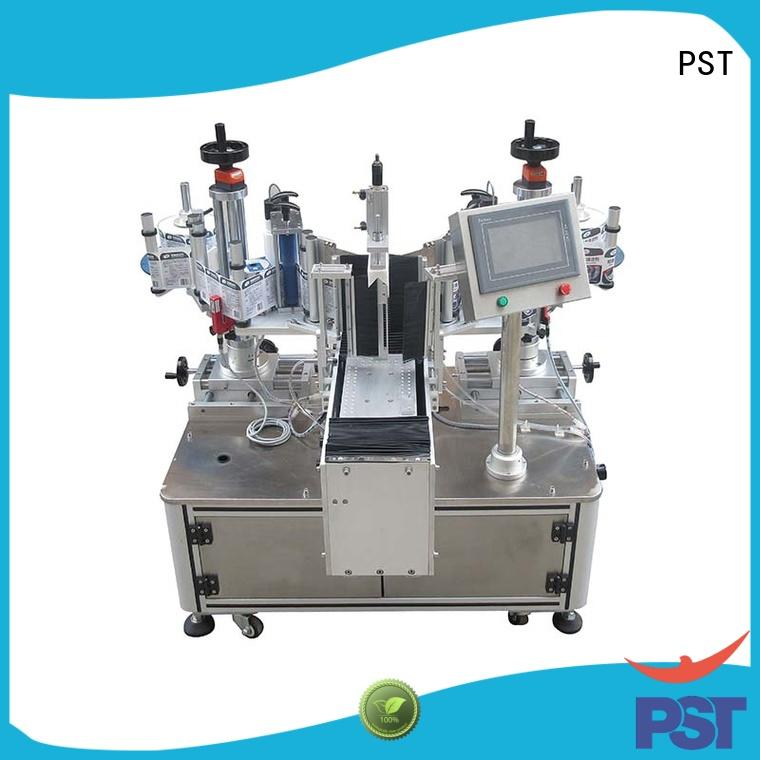 PST semi automatic shrink sleeve labeling equipment customization for cards