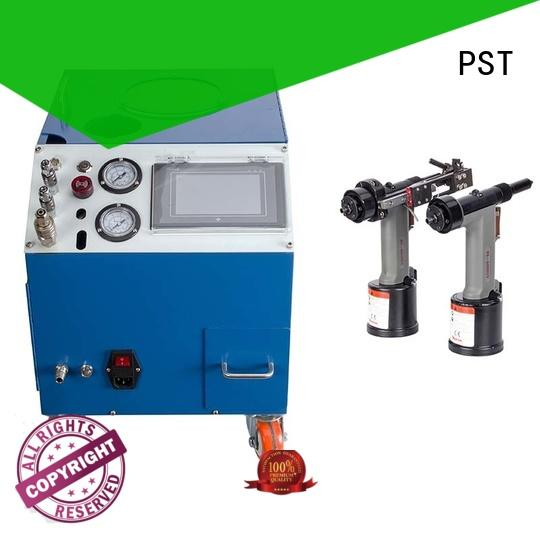 PST error prevention automatic pop rivet machine supplier for flight case