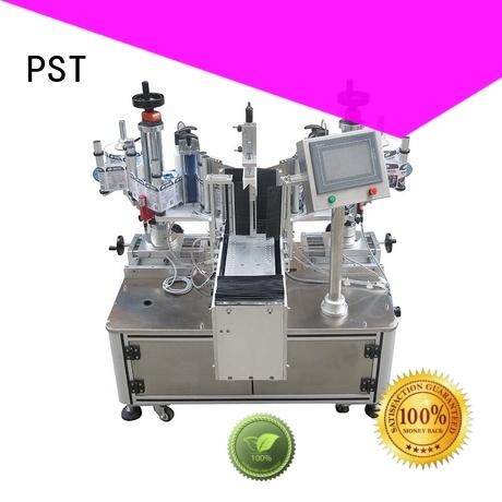 efficient automatic card labeling machine customization for round bottles PST