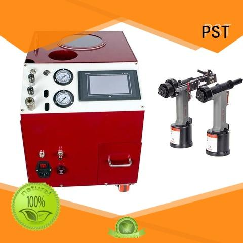 riveting pneumatic blind rivet machine manufacturer PST manufacture