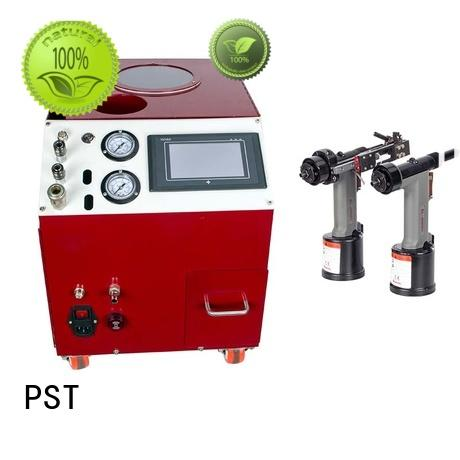 PST electric riveting machine error prevention for blind rivets