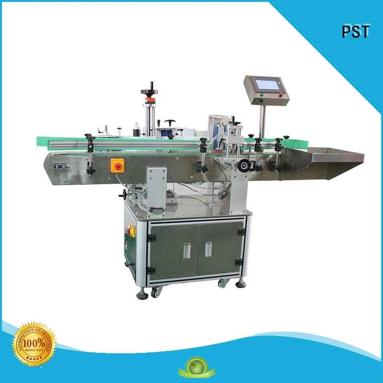 PST high speed bottle sticker labeling machine factory price for wine bottle