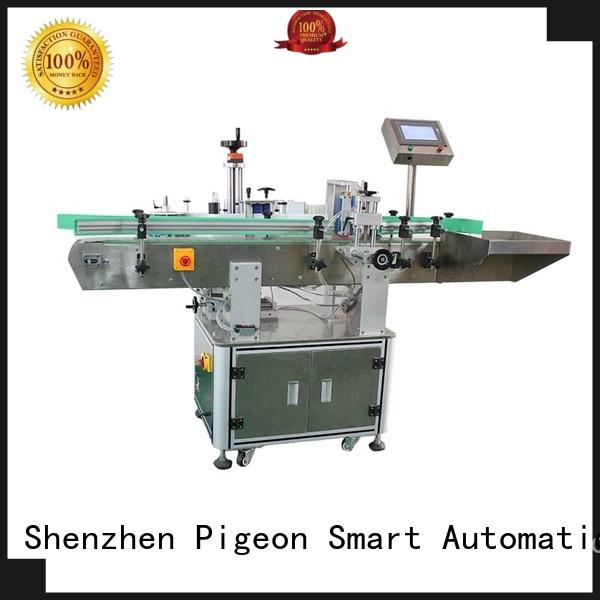 Custom flat automatic label applicator machine PST