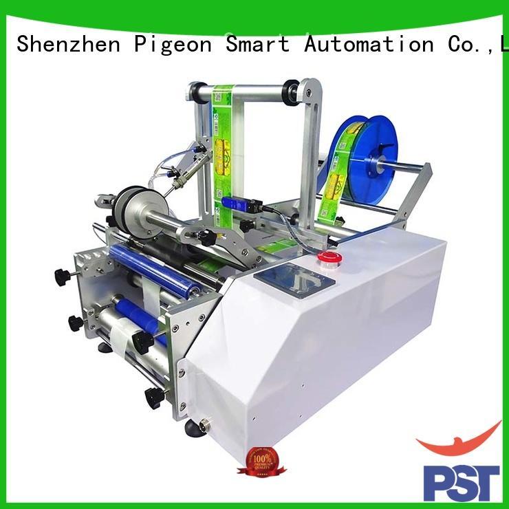 automatic labeling equipment machine bottles PST