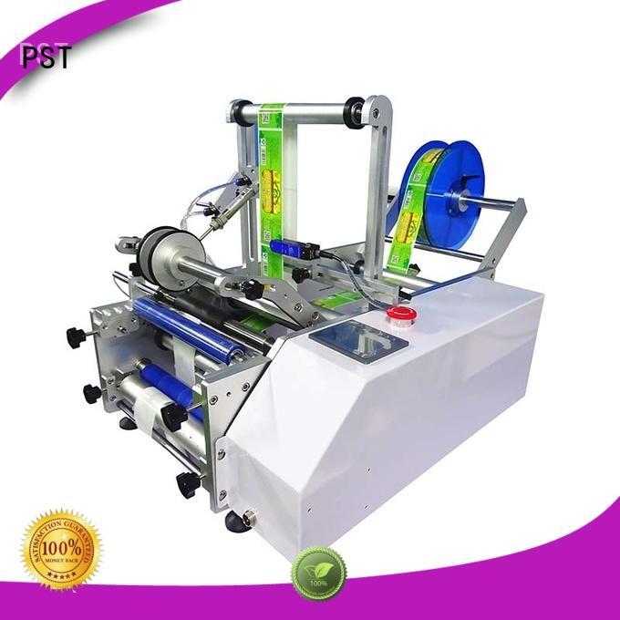 sides round shrink auto label machine PST Brand