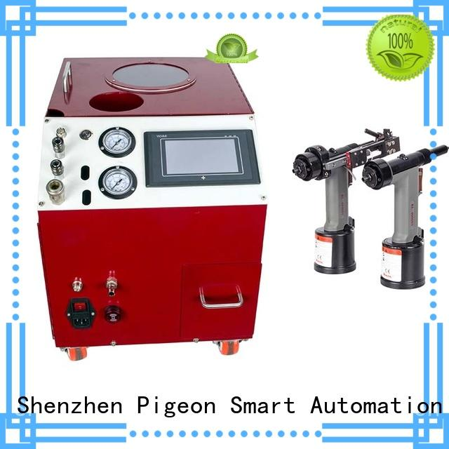 PST top electric riveting machine for busniess for computer terminal case