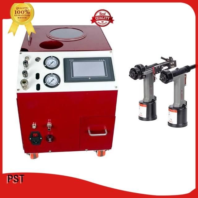 PST high speed automatic riveting machine fast delivery for computer terminal case