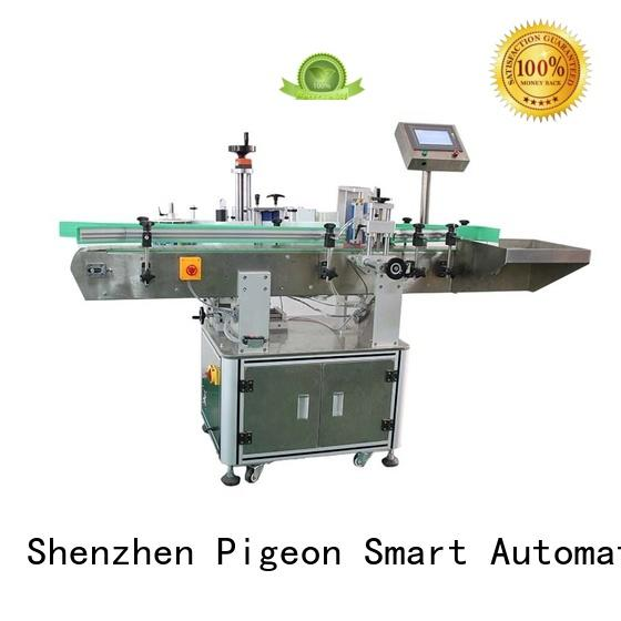 corner high speed labeling machines bucket for industry