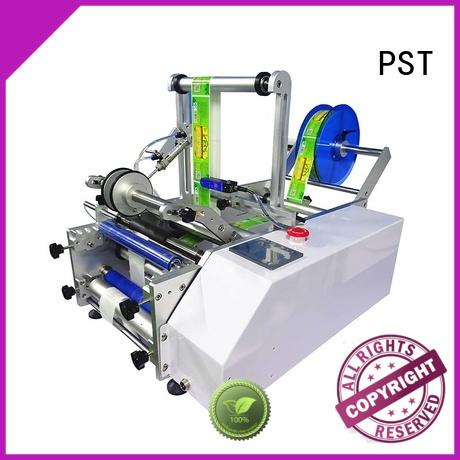 PST new semi automatic bottle labeler wholesale for industry
