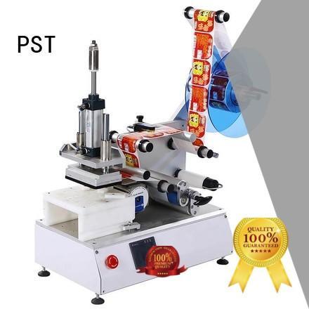 PST Brand round labeling speed custom auto label machine
