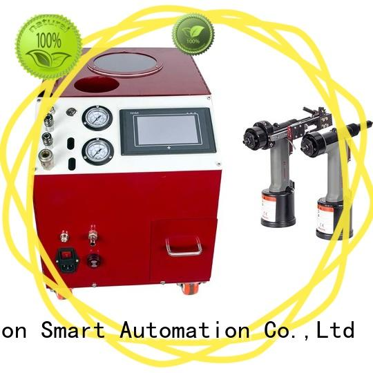 electric riveting machine error prevention for blind rivets PST