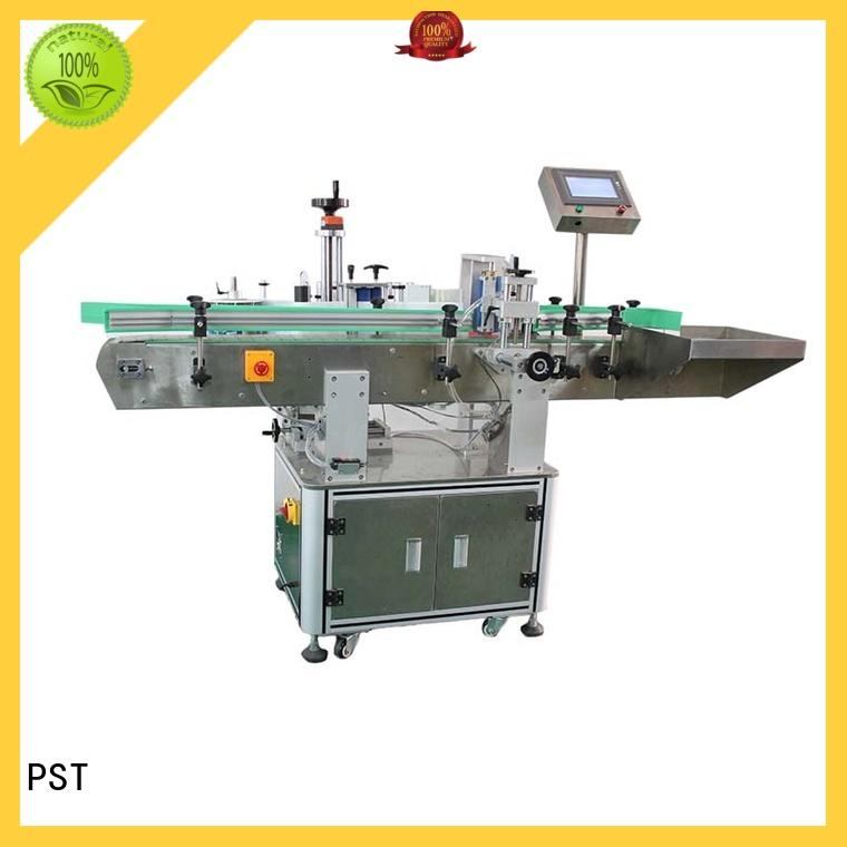 PST top automatic bottle labeling machine factory price for round bottle