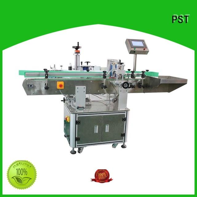 top round bottle labeling machine long lasting for wine bottle