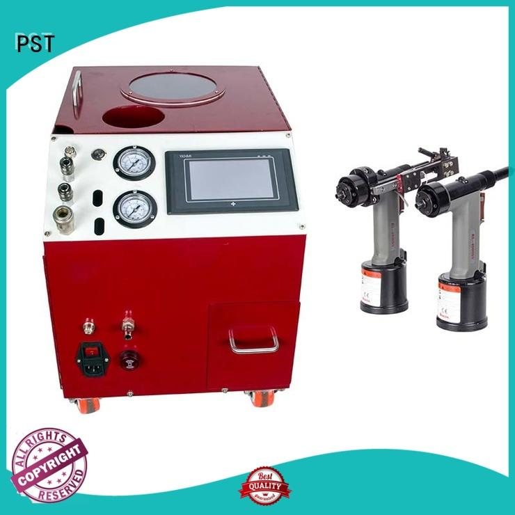 silver color automatic riveting machine fast delivery for flight case