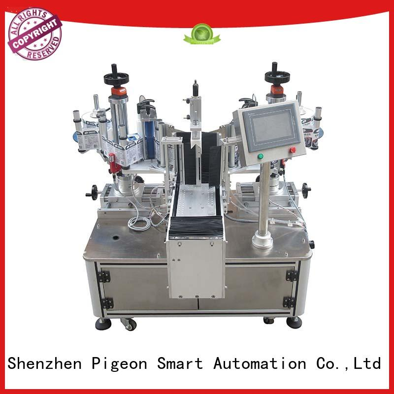 smart semiautomatic flat PST Brand automatic label applicator