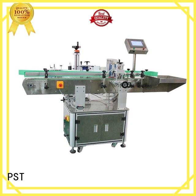 auto label machine round equipment speed PST Brand company