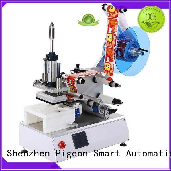 high speed labeling machines with label sensor for round bottles PST