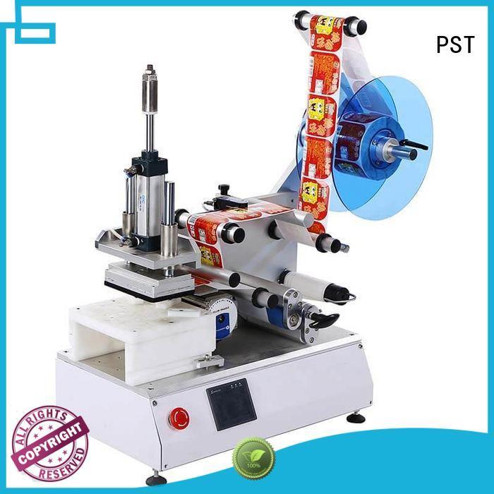 shrink flat machine round automatic label applicator PST