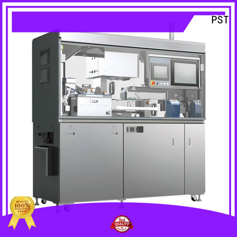 detecting automated image testing machine stick for PST