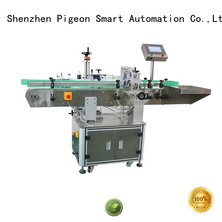PST automatic bottle label applicator manufacturer for cosmetics bottles