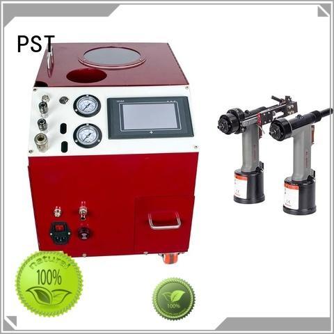 feed rivet machine manufacturer automatic pneumatic PST Brand