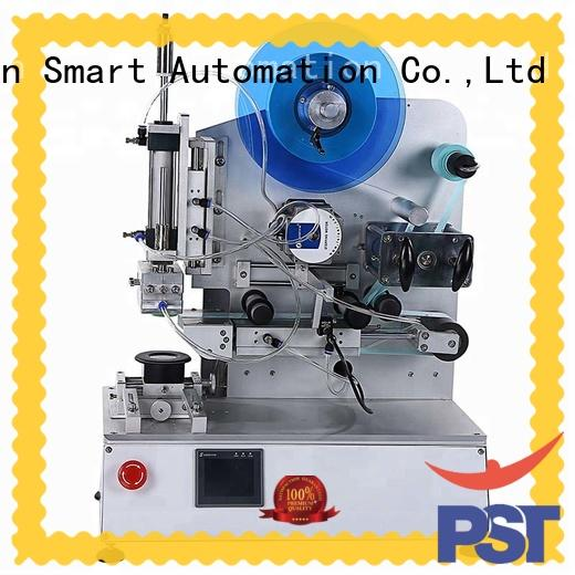 PST new semi automatic flat labeling machine supply for sale