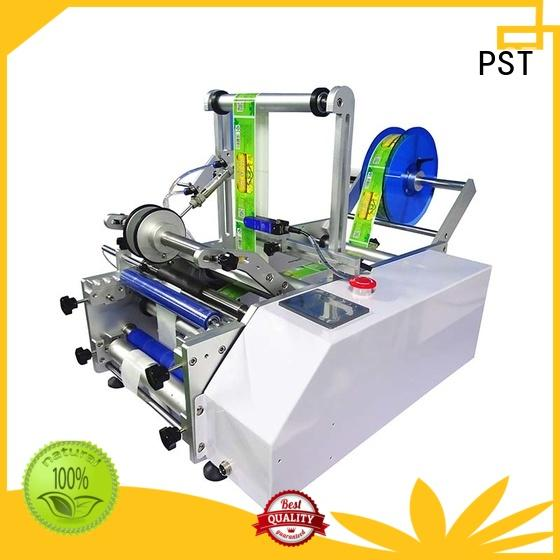 bottle semiautomatic speed auto label machine PST Brand