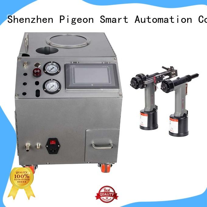 silver color automatic feeding machine for blind rivets wholesale for server case