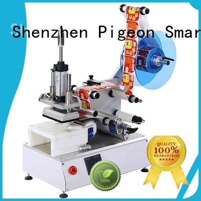 excellent automatic label sticking machine efficient for flat bottles PST