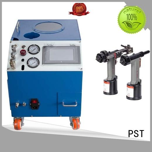 silver color automatic feeding machine for blind rivets supplier for server case PST