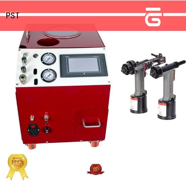 error prevention rivet machine for sale supplier for computer terminal case PST
