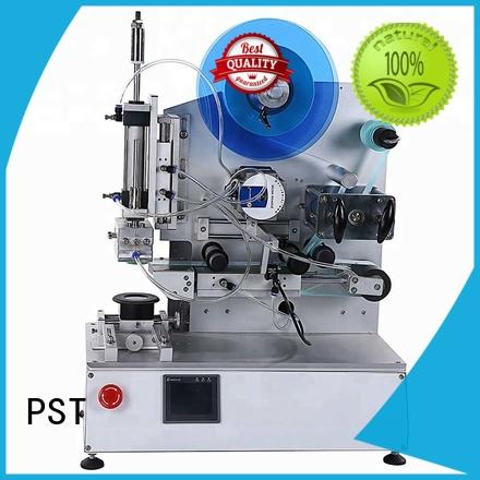auto label machine shrink semiautomatic PST Brand company