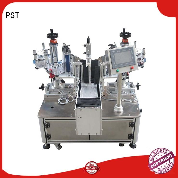 PST professional semi automatic labeler with adhesive sticker for bucket
