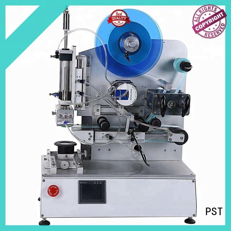 PST double sizes automatic label applicator with label sensor for cards