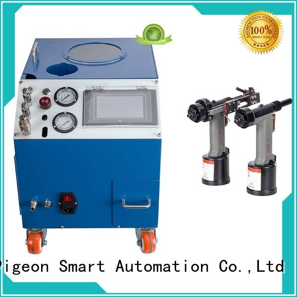 PST electric riveting machine supplier for computer terminal case