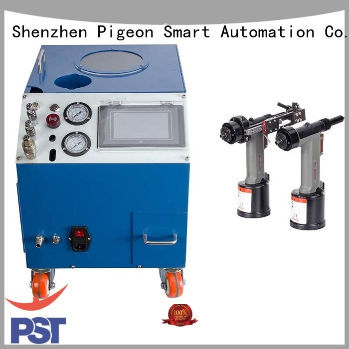 intelligent automatic feeder for blind rivets blind pneumatic PST company