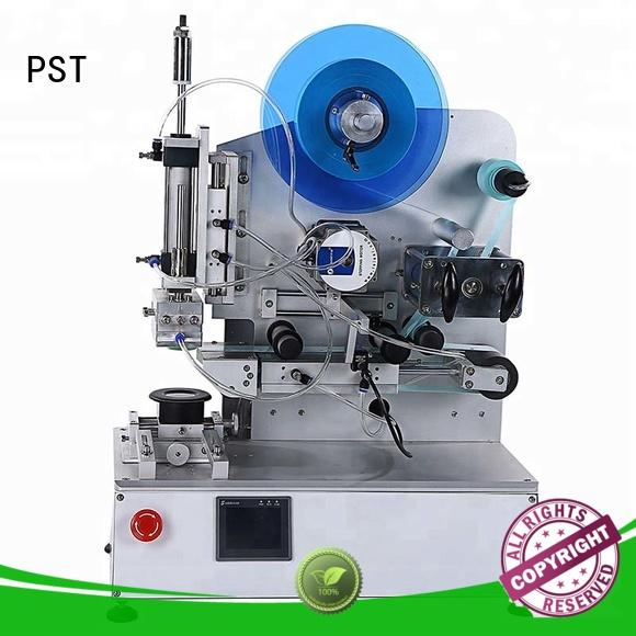 semi automatic shrink sleeve label machine with label sensor for industry PST