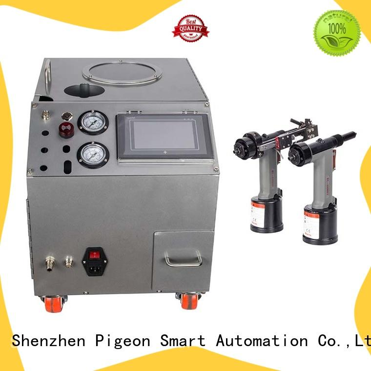 PST automatic riveting machine with pneumatic rivet guns for kitchen hood