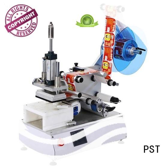 PST flat labeling machine with custom service for square bottles