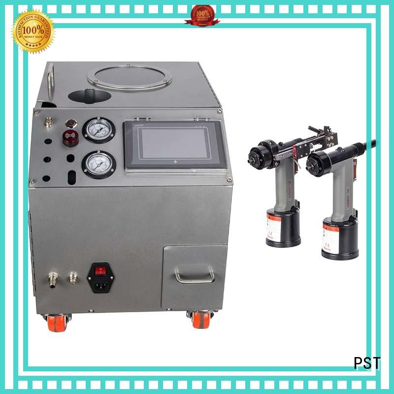 high end automatic riveting machine professional for computer terminal case PST