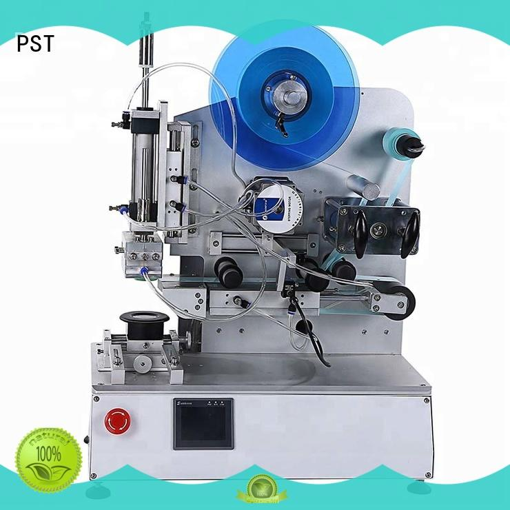 PST double sizes auto label machine excellent for cards