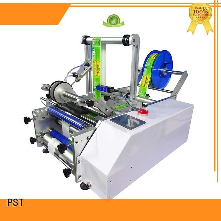 PST Brand round automatic flat automatic label applicator