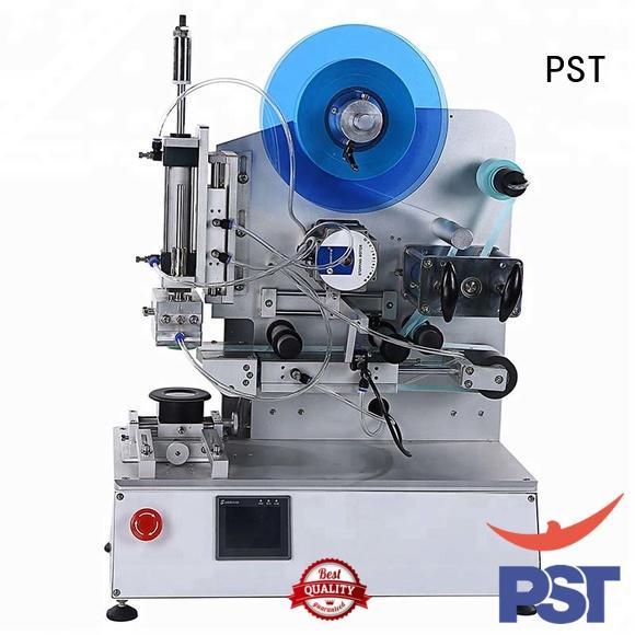 PST Brand automatic precision shrink flat automatic label applicator