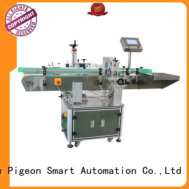 PST automatic bottle label applicator long lasting for round bottle